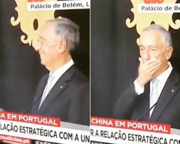 Marcelo Rebelo De Sousa Proporciona Momento Caricato No Encontro Com Xi Jinping 19
