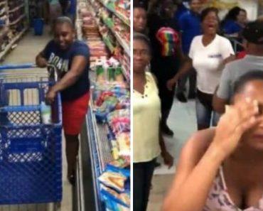 Como Desperdiçar a Oportunidade De Levar Tudo o Que Se Quer De Um Supermercado Durante 1 Minuto 1
