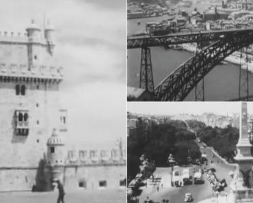 Vídeo Mostra Como Era Portugal Em 1950 2