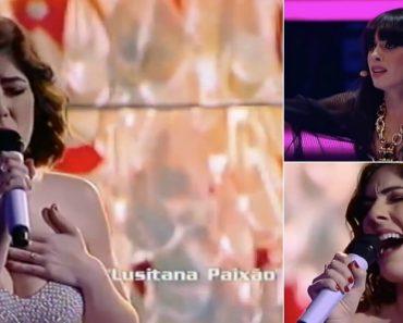 """Diana Castro Canta e Encanta Com """"Lusitana Paixão"""" No The Voice Portugal 2"""