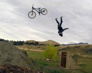 Pais Apoiam Filho De 8 Anos a Tentar Fazer Um Backflip De Bicicleta 6