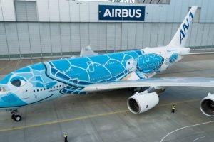 Airbus Revela Elaborado Processo De Pintura De Um A380 Com 16 Tonalidades Diferentes 9