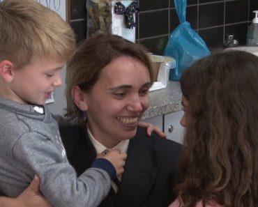 O Momento Emocionante Em Que Militares Portugueses Reencontram Os Filhos Após Meses De Ausência 9
