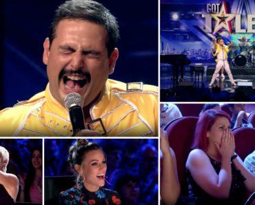 Grande Homenagem Aos Queen Conquistou o Público e Os Jurados Do Got Talent Espanha 9
