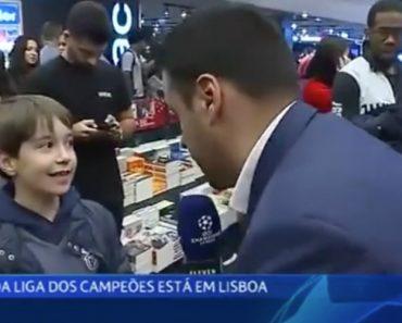 Menino Benfiquista Quer Que FC Porto Vença a Liga Dos Campeões 9