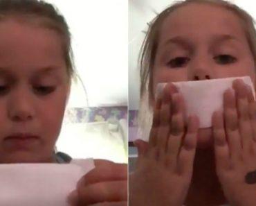 Quando Menina De 8 Anos Faz Vídeo Sobre Maquiagem e Vê Um Penso Higiénico Pela 1ª Vez 1