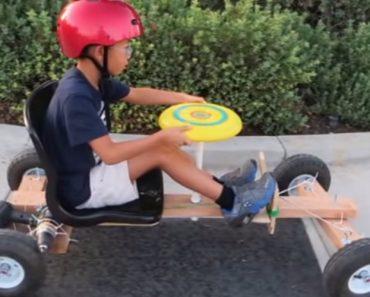 Pai Faz Carro De Brincar Usando Como Motor Um Berbequim 2