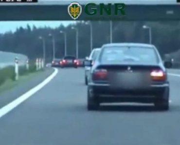 Vídeo Da GNR Mostra Manobras Perigosas Nas Estradas Portuguesas 3