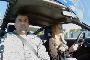 Mulher Portuguesa Mostra Como Se Acelera Num Honda CRX b20 10