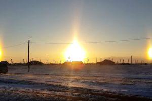 O Fenómeno Raro Que Fez 3 Sóis Brilharem No Céu Do Cazaquistão 9