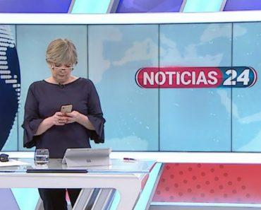 TVI24 Termina Intervalo e Pivô Continua a Mexer No Telemóvel 1
