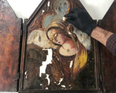 Obra De Arte Em Madeira Extremamente Danificada Recupera a Sua Glória Após Restauração 3