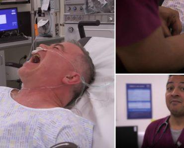 A Curiosa e Hilariante Reação De Um Paciente Após a Administração De Um Analgésico Muito Forte 7
