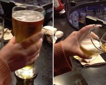 Cliente De Bar Descobre Que a Diferença Entre a Cerveja Grande e Pequena é Mínima 3
