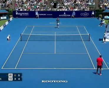 Tenista Bernard Tomic Faz Match Point Surreal Contra Nick Kyrgios 1