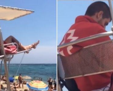Como é Dura a Vida De Um Nadador Salvador Em Espanha 9