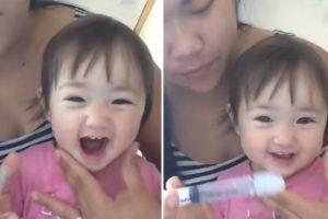 Esta Menina Mostra Como a Irrigação Nasal Pode Ser Um Verdadeiro Divertimento 9