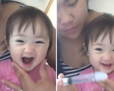 Esta Menina Mostra Como a Irrigação Nasal Pode Ser Um Verdadeiro Divertimento 8