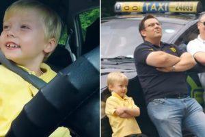 Qual Seria a Sua Reação Se Entrasse Num Táxi Conduzido Por Uma Criança De 3 Anos? 9