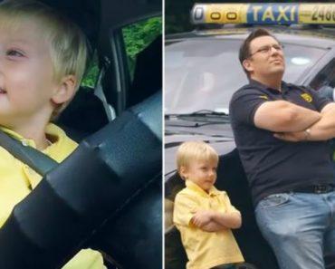 Qual Seria a Sua Reação Se Entrasse Num Táxi Conduzido Por Uma Criança De 3 Anos? 3