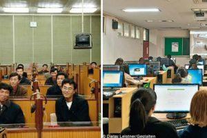Fotos Revelam As Diferenças Entre a Coreia Do Norte e Coreia Do Sul 9