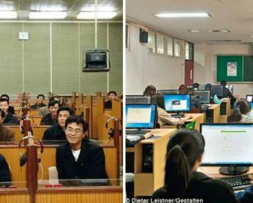 Fotos Revelam As Diferenças Entre a Coreia Do Norte e Coreia Do Sul 2