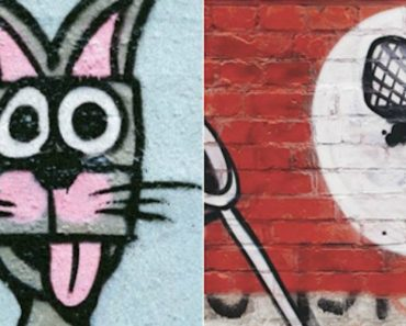 Artistas Em Berlim Usam a Criatividade Transformando Graffitis Nazis Em Simpáticas Imagens 5