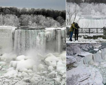 Onda De Frio Congelou Cataratas Do Niágara e As Fotos São Incríveis 8