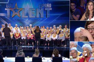 """Idosos Com Alzheimer Participam No """"Got Talent"""" e Deixam Espanha a Chorar De Emoção 10"""