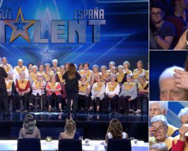 """Idosos Com Alzheimer Participam No """"Got Talent"""" e Deixam Espanha a Chorar De Emoção 4"""