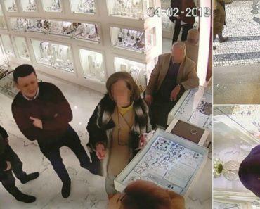 Em 2 Minutos Ladrões Roubaram 15 Mil Euros Em Anéis No Porto 1