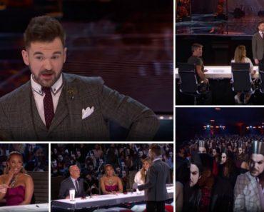 """Sherlock Holmes"" Da Vida Real Volta a Ler a Mente Dos Presentes No America's Got Talent 9"