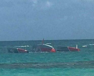 Trimarã Desaparecido Nos Açores Em 2017 Aparece Nas Bahamas 1