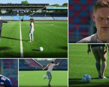 Jogadores São Postos à Prova Em Reportagem Com Uma Assistente Que Trata a Bola Melhor Do Que Eles 2