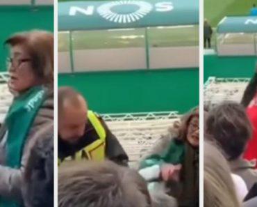 Adepto Do Benfica é Ameaçado Com… Sapato 1