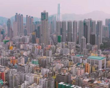 Imagens Aéreas Impressionantes Revelam a Selva De Cimento De Hong Kong 3