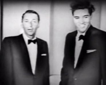 Um Raro Registo De Frank Sinatra e Elvis Presley Em Dueto 8
