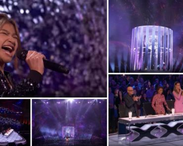 """Angelica Hale Volta a Surpreender No America's Got Talent Desta Vez Com a Interpretação De """"Impossible"""" 8"""
