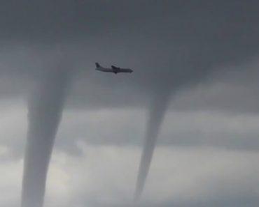 E Se Tivesse De Passar Por Três Tornados Numa Aterragem De Avião? 4