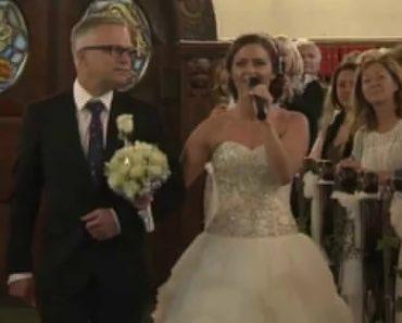 Noiva e Pai Deixam Noivo Em Lágrimas Ao Ver a Surpresa Que Lhe Prepararam 7