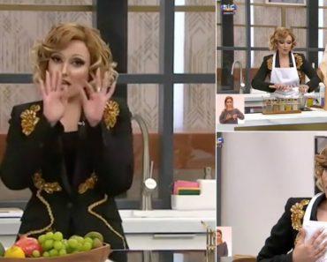 """Joana Pais De Brito Encarna Em Cristina Ferreira e Abre """"O Programa Da Cristina"""" 1"""