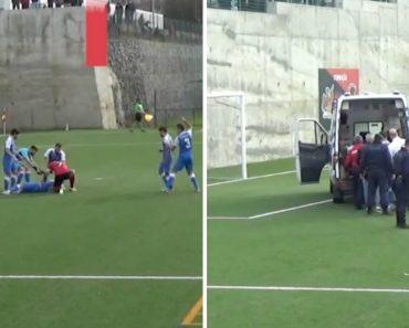 Jogador Do Penafiel B Salva a Vida a Adversário Dentro De Campo 6