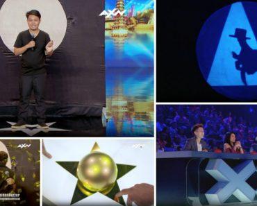 Recebeu o 1º Botão Dourado No Asia's Got Talent Após Uma Performance Genial De Sombras Com As Mãos 1