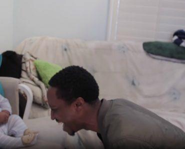 Bebé Tem Ataque De Riso Quando Pai Improvisa Um Rap 3