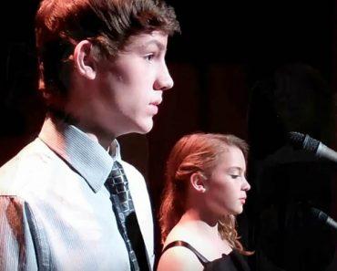 Dois Jovens Decidem Cantar Clássico De Celine Dion e Andrea Bocelli e a Atuação é De Arrepiar! 5