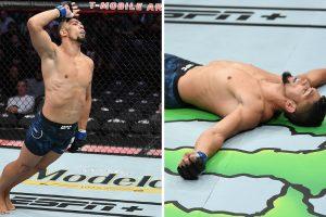 Lutador De MMA Desloca Ombro Enquanto Celebra Vitória 10