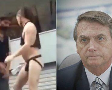 """Bolsonaro Publica Vídeo Obsceno No Twitter e Pergunta o Que é """"Chuva Dourada"""" 9"""