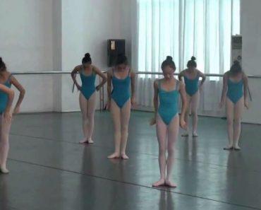Jovens Bailarinas Mostram o Seu Incrível Talento Em Número De Dança Impressionante 9