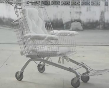 """Ideia De Mestre Permite Criar Cadeiras De Rodas Com Carrinhos De Supermercado """"Reciclados"""" 3"""