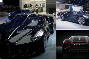 """Bugatti """"La Voiture Noire"""" é o Carro Novo Mais Caro De Sempre… 16,7 Milhões De Euros! 9"""